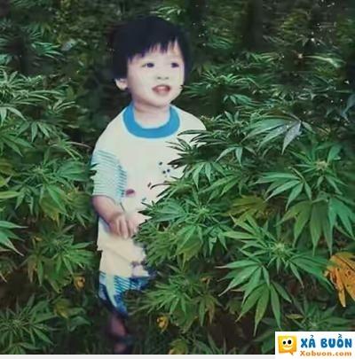 hài hước   ảnh của tao hồi bé chúng mày ạ =)  <3  -  haivl