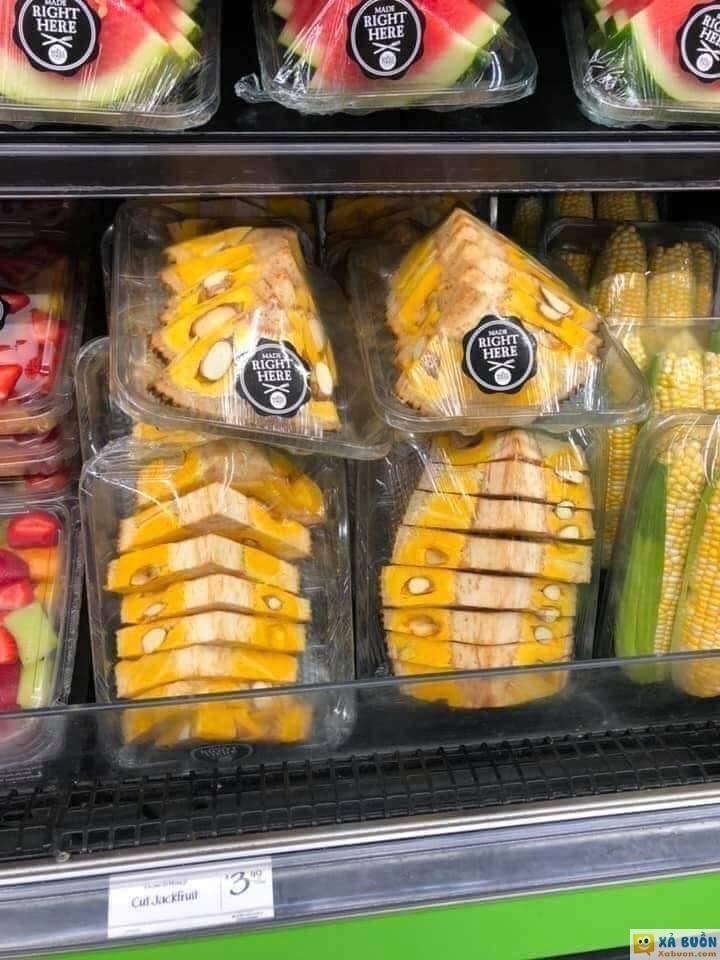 Đây là cách Mỹ bán mít trong siêu thị :) -  haivl   hài hước   hài vl
