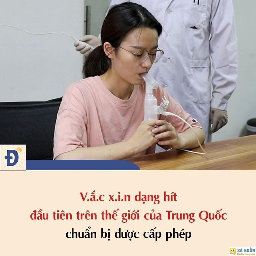Trung Quốc phát triển thành công vacxin dạng hít :) -  haivl